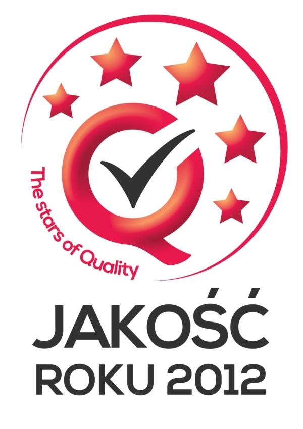 Logo tytułu JAKOŚĆ ROKU 2012 1