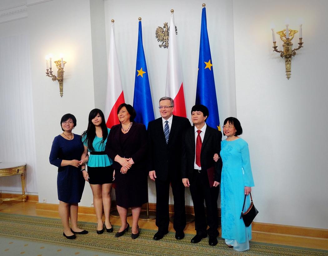Nominacja profesorska dra hab. Mai Suan Li