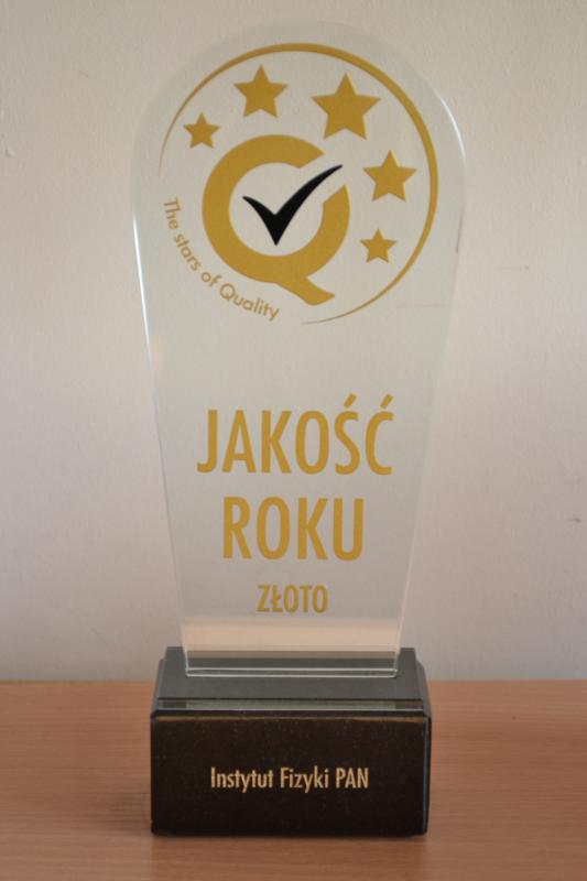 Nagroda JAKOŚĆ ROKU 2013