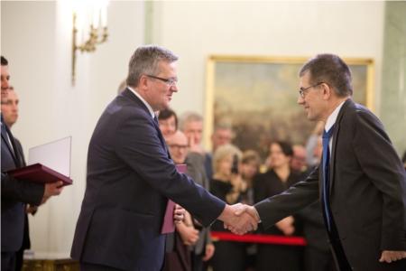 Nominacja profesorska dra hab. Wojciecha Paszkowicza 1