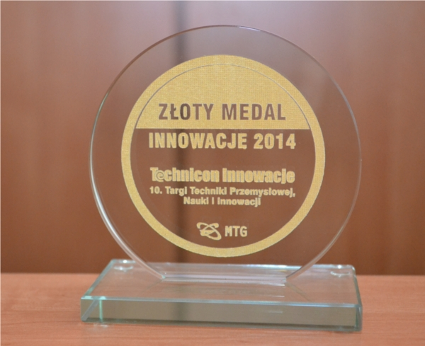 Złoty medal INNOWACJE 2014