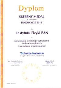 Dyplom Technicon Innowacje VII 2