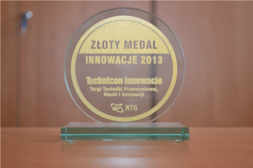 Medal Technicon Innowacje IX 2